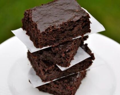 Chocolate Brownies – healthy one's with zucchini