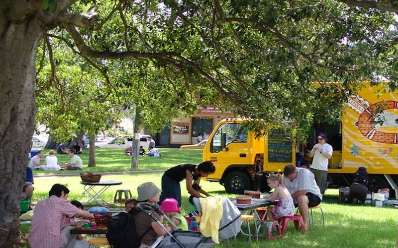 Magic Yellow Bus - Camperdown Memorial Rest Park, Newtown
