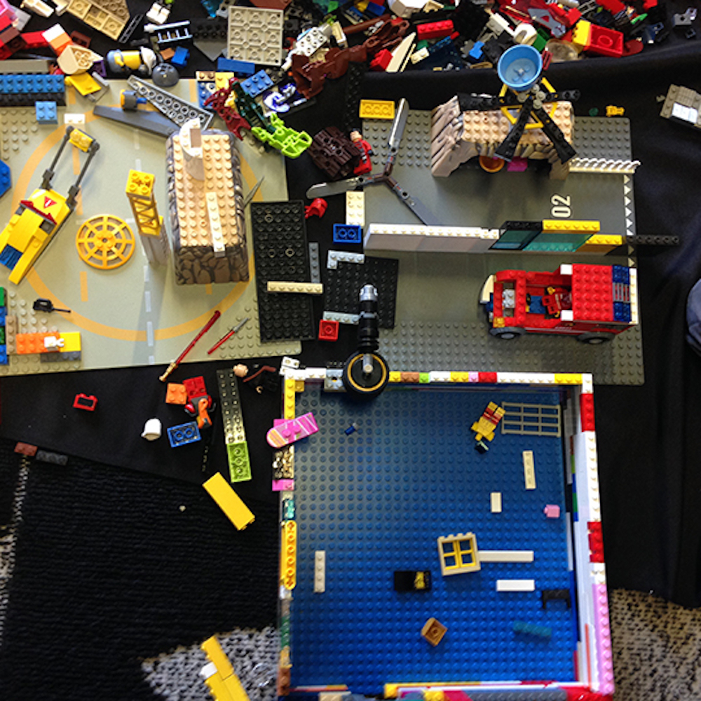 Lego - the Big Build- Marrickville Library