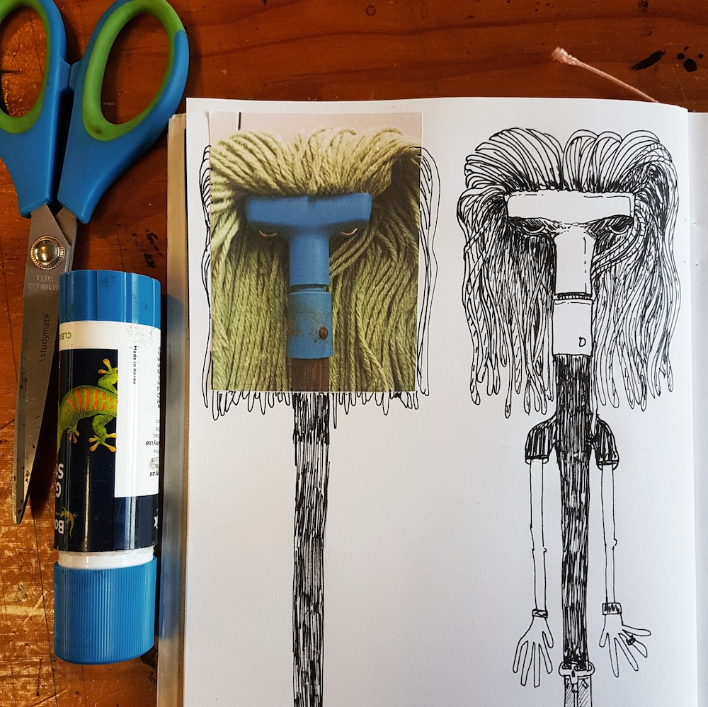 Curiouser & Curiouser! Creative Character Creation - Drawn to Seeing Drawing Workshop